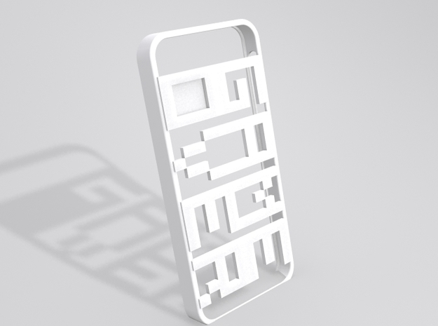 GAMEOVER iPhone 5 Case 3d printed Sample render