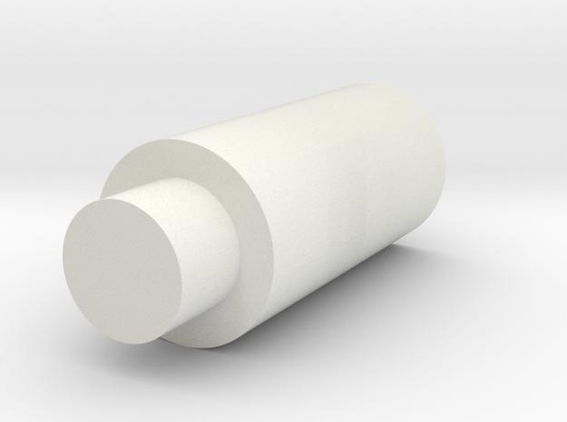 Extended, Hollow Flat Nub Für Tippmann M4 Länger in White Strong & Flexible