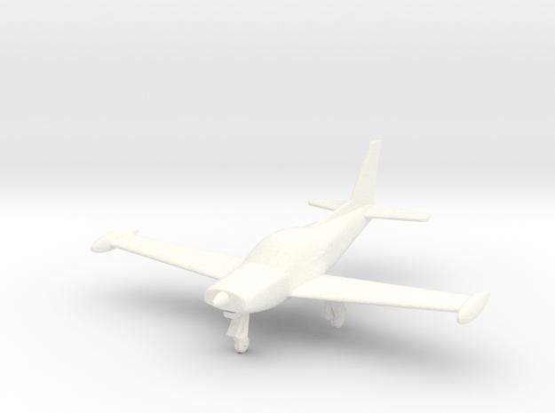 Siai Marchetti SF260 in 1/96 scale in White Processed Versatile Plastic