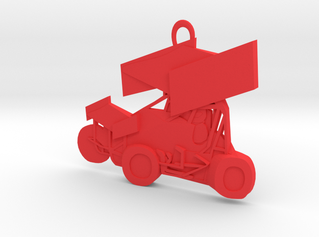 Sprint Car Ornament 3d printed