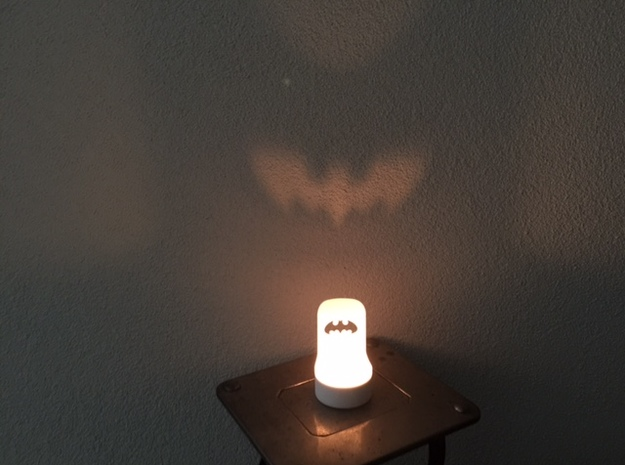 Batman Theelight in White Strong & Flexible