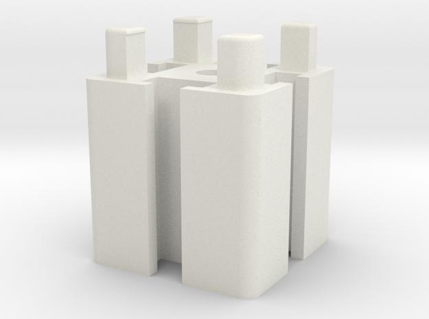 Prototype Blocks in White Strong & Flexible
