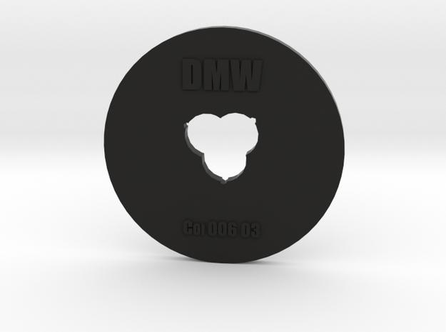 Clay Extruder Die: Coil 006 03 in Black Natural Versatile Plastic