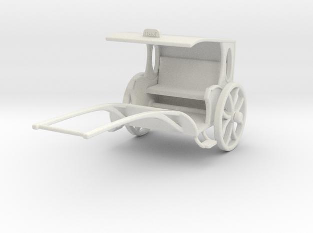 Fantasy Rickshaw  in White Natural Versatile Plastic