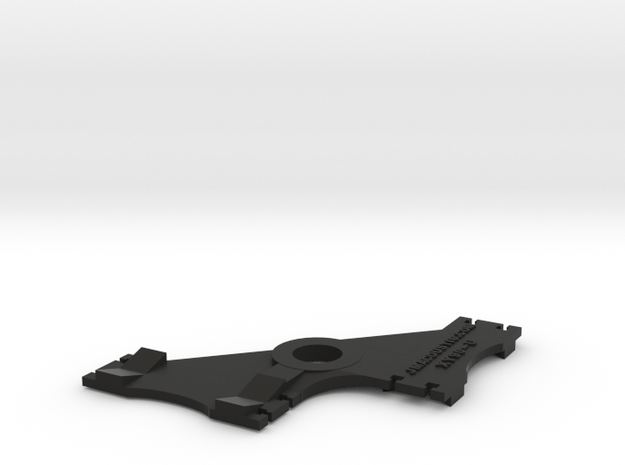 XY Stereo Mic Clip Universal in Black Natural Versatile Plastic
