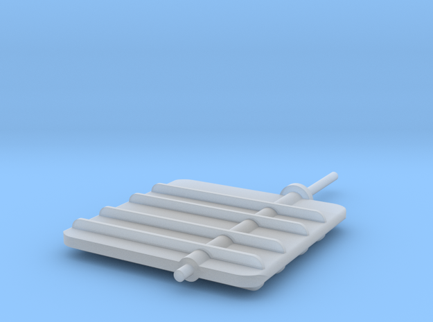 Main Rudder 1-32 in Frosted Ultra Detail