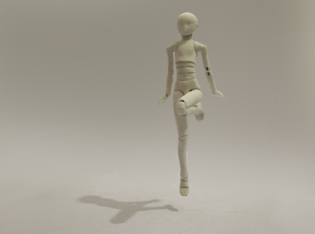 1/12 scale ALTER EGO MkXX bjd model kit in White Strong & Flexible