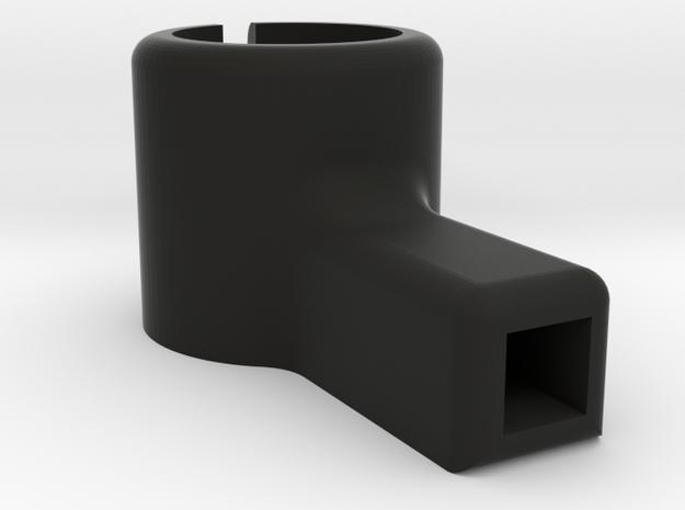 8.5mm Micro Motor Mount in Black Strong & Flexible