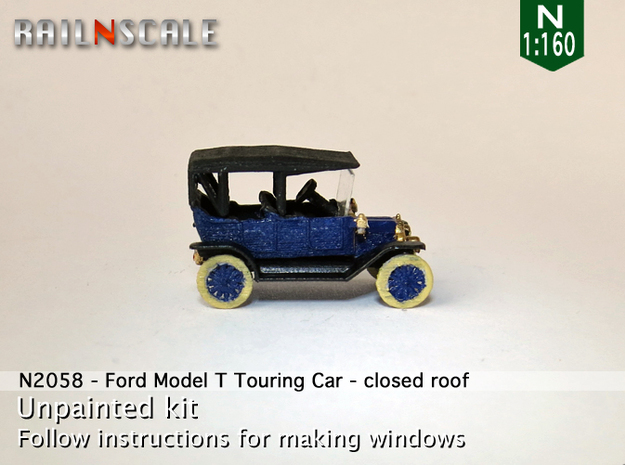 Ford Model T - closed roof (N 1:160)