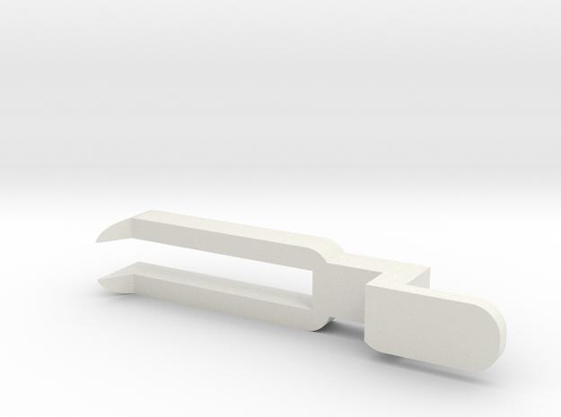 AR-Fork V3.2 in White Natural Versatile Plastic