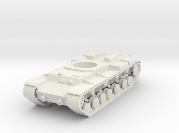 1/100 Long KV chassis in White Strong & Flexible