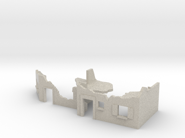 TT 1/120 street fighting / street ruins in Natural Sandstone
