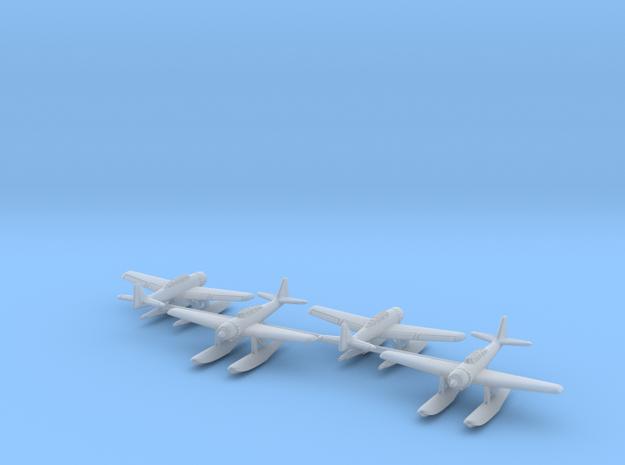Aichi E16A1 Zuiun (Paul) 4 airplanes 1/500 in Smooth Fine Detail Plastic