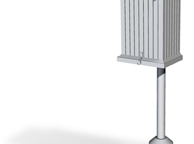 PRR Telephone Box - Regular Base 3d printed PRR Telephone Box