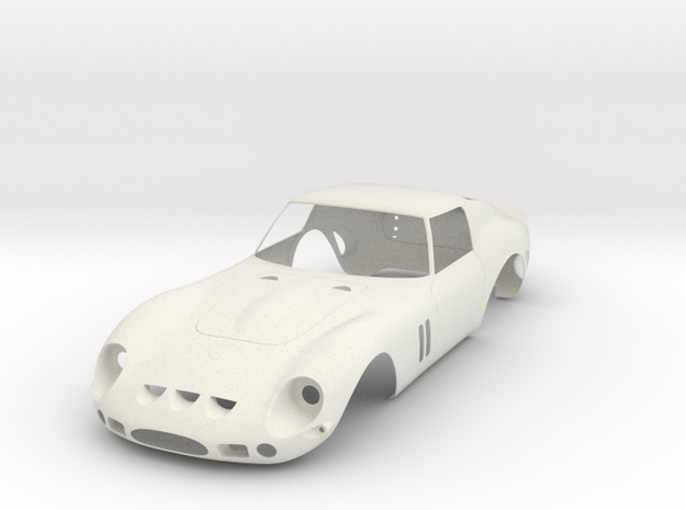 Ferrari 250 GTO body scale 1/8