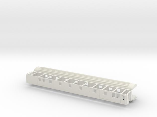 Packwagen SBB Dms Komplett Scale TT 1/120 1:120  in White Natural Versatile Plastic: 1:120