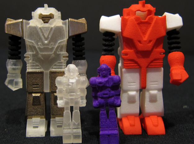 ST PSFT-A (1 of 3) 3d printed Shown here with the DX version (on left) and Inch Lady driver figures (sold separately)
