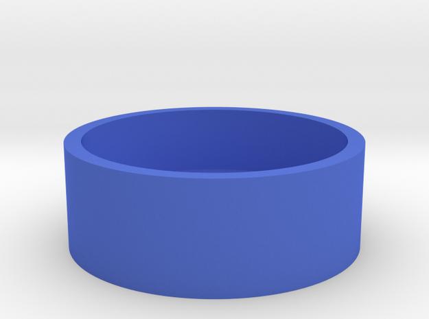 Boston Box Base USA Half Dollar in Blue Processed Versatile Plastic