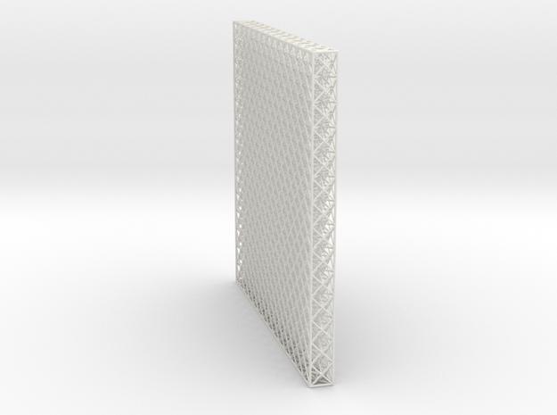 Octet Truss Panel (1x14x14) in White Natural Versatile Plastic
