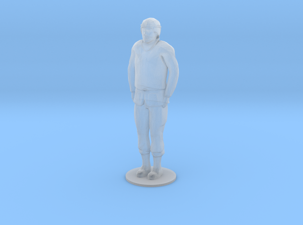 Male Soldier Standing (1/48) in Smooth Fine Detail Plastic