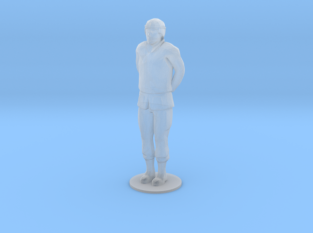 Male Soldier Hand Behind (1/48) in Smooth Fine Detail Plastic