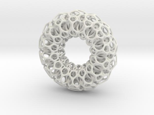 Tor 3 in White Natural Versatile Plastic