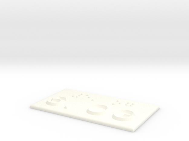 5.OG in White Processed Versatile Plastic