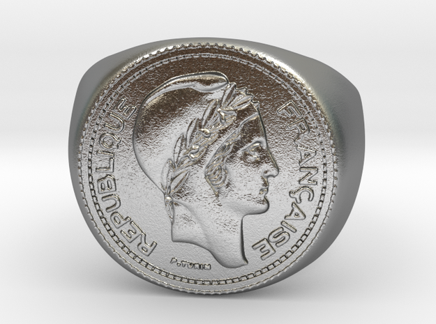 10 Francs 1949  in Natural Silver