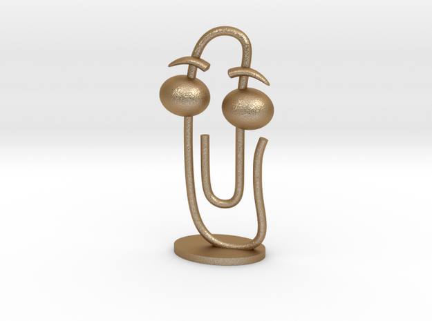 CLIPPY - small (2.25mm thin) 3d printed