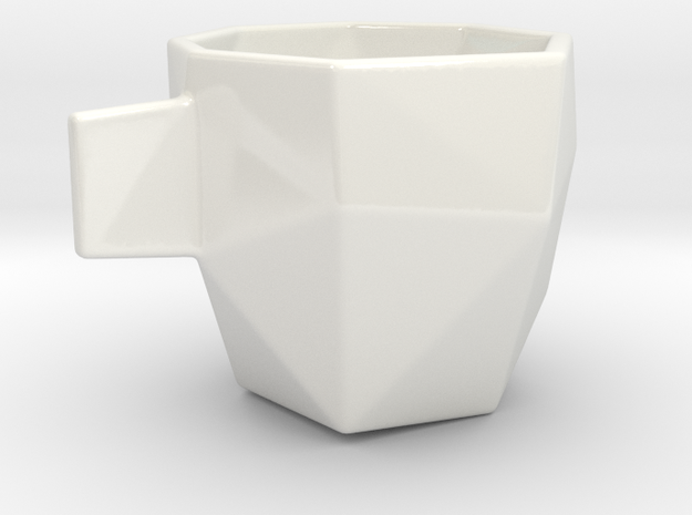Poly Espresso 2 in Gloss White Porcelain