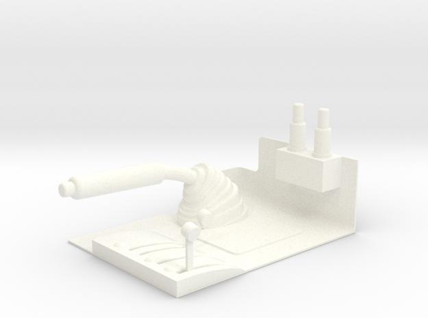 1.8  MANCHE COLLECTIF LAMA in White Processed Versatile Plastic