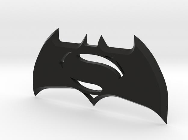 Batman V Superman Batarang in Black Natural Versatile Plastic
