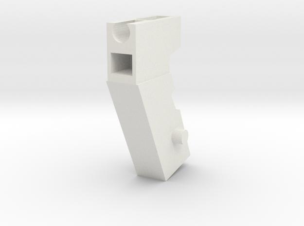 Handle Adapter (Shockblaster) for Nonnef Hands in White Strong & Flexible
