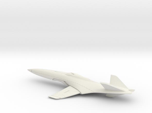 E3 Jet - Concept Design Quest in White Natural Versatile Plastic