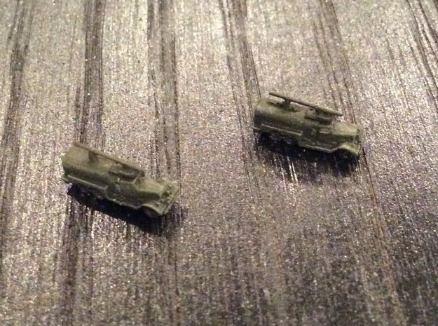 1:700 Scale WWII Fire Tender Class 150 in Smoothest Fine Detail Plastic