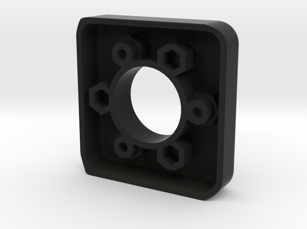 Fanatec 52mm to 50.8mm Adapter in Black Natural Versatile Plastic