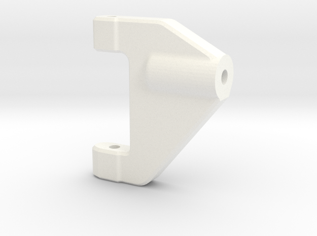 NS-UpperArm-Right-V2 in White Processed Versatile Plastic