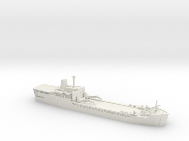 1/600 Falklands Conflict RFA Sir Lancelot LSL in White Strong & Flexible