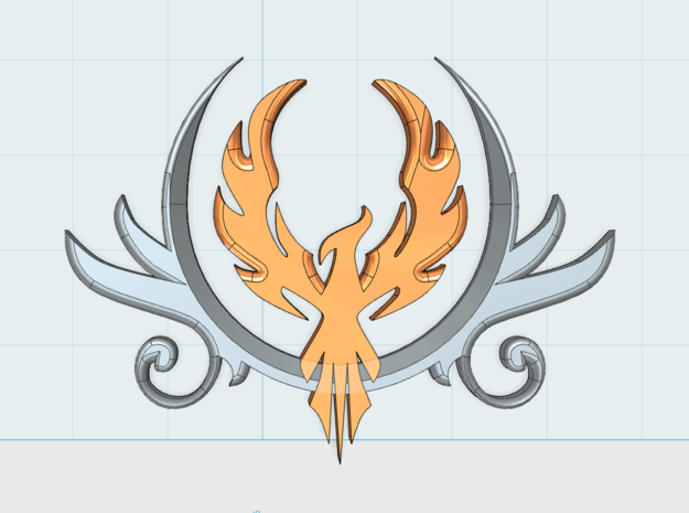 8x PhoenixCrest: Large Vehicle Insignia Set