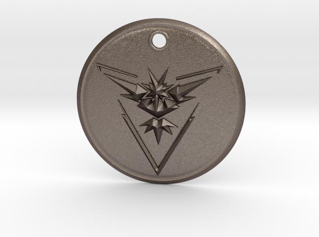 Team Instinct Pendant- Pokemon Go  in Stainless Steel
