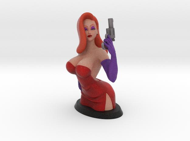 Jessica Bust 13cm in Full Color Sandstone