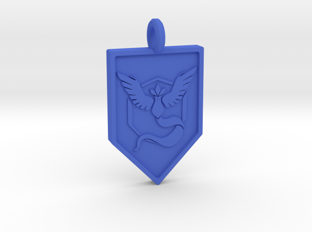 Team Mystic Badge Keychain