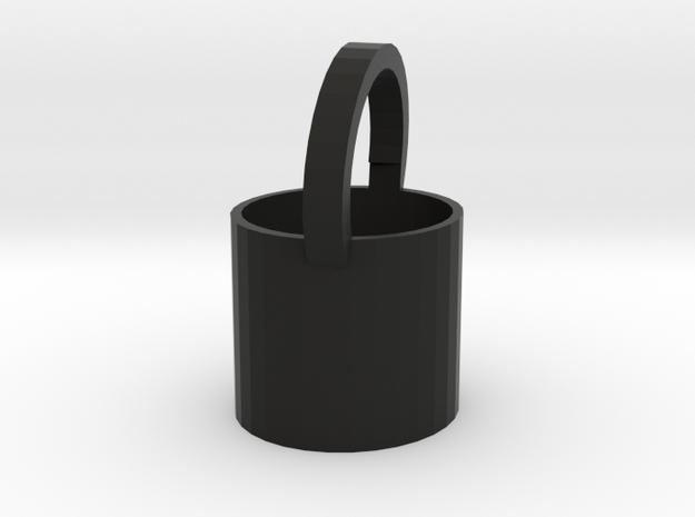 Bucket in Black Strong & Flexible