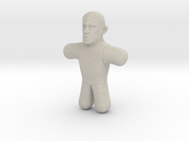 Obama Voodoo Doll in Natural Sandstone