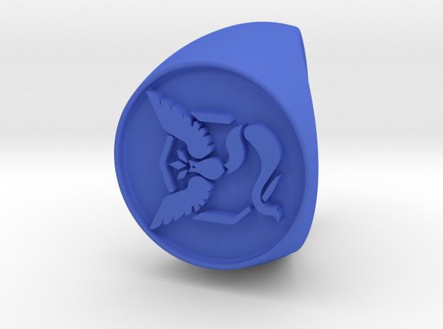 Team Mystic Signet US 9 in Blue Processed Versatile Plastic