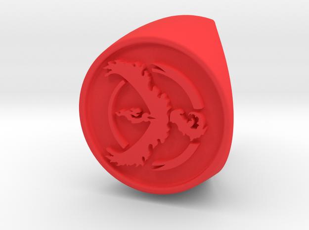 Team Valor Signet US 7 in Red Processed Versatile Plastic