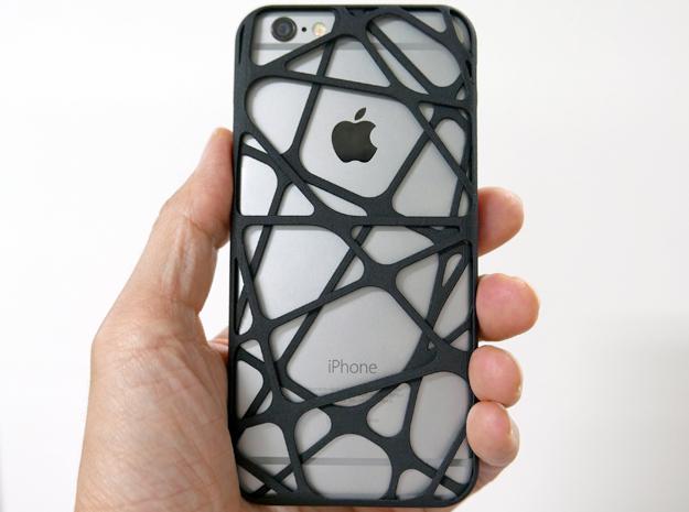 iPhone 6 plus / 6S plus Case_Cross in Black Strong & Flexible