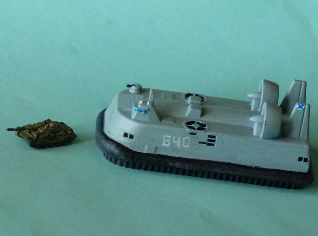 Lebed LCAC 1/285 6mm 3d printed Tank NOT included