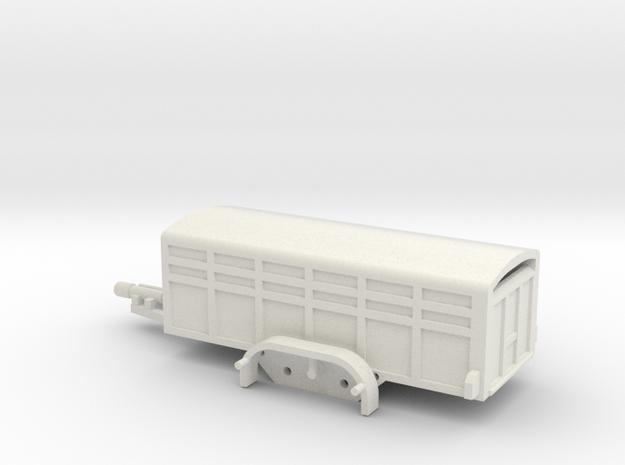 1037 Tiertransporter HO in White Strong & Flexible