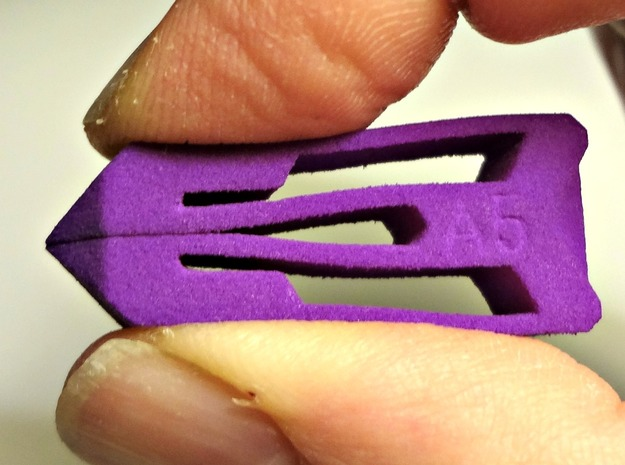 Tweezers A5 in Purple Strong & Flexible Polished